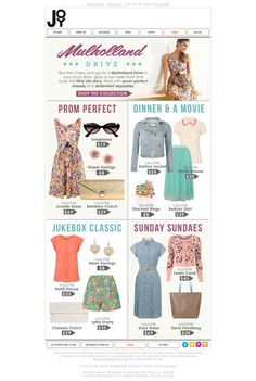 82 best fashion email newsletters images email newsletters email rh pinterest com