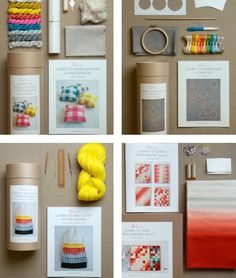 Gorgeous kits from Purl Soho.
