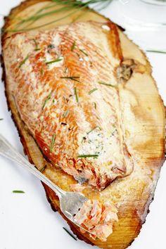 Simple Smoked Salmon