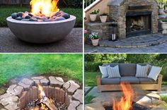 20 DIY Fire Pit Tutorials More Pins Like This At FOSTER-GINGER @ Pinterest