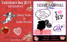 Betty Nails: Valentine's Day 2014 Giveaway