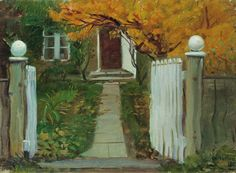 The Entrance To Our Garden by Anna Ancher