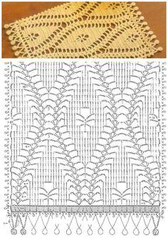 Nice crochet stitch + diagram