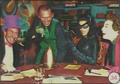 1960s Batman Cards | ... 1960's Batman 'Bat Laffs' gum cards issued by A&BC in the 1960's