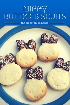 miffy butter biscuit recipe - the gingerbread house