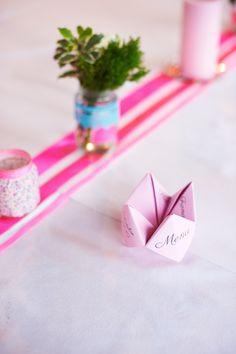 Fortune Teller menu Fortune Teller, Place Cards, Menu, Place Card Holders, Printables, Wedding, Menu Board Design, Valentines Day Weddings, Print Templates