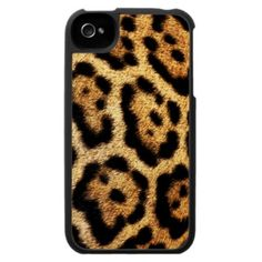 Leopard Fur Look iPhone 4 Case
