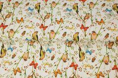 Stenzo Hydrofiel Vogeltjes print ecru | NIEUWE STOFFEN ! | babystofjes.nl Abstract, Prints, Diy, Painting, Babies, Print Fabrics, Tricot, Craft Work, Fabrics