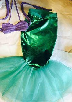 Little mermaid costume Ariel inspired by Maharai on Etsy