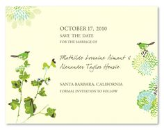 Eco-Friendly Save the Date cards ~ Nature's Glory,#uniquesavethedate,#plantablesavethedate,#seededpaper