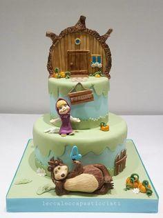 Masha e orso - Cake by leccalecca