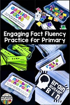 Fact fluency doesn't have to be boring.  Engage your students a fun variety of warm-up activities that get them solving math facts!