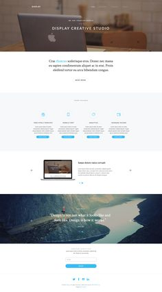 hydrogen is a free html5 bootstrap masonry template which is good