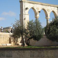 Roman arch on Temple Mount