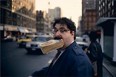 Jeff Mermelstein Untitled (Book in Mouth, New York City), 1993