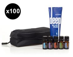 The doTERRA® Athlete's Kit was designed with athletes in mind, and is perfect for supporting healthy lifestyles from competitive to health-minded. The kit includes key products for those with an athletic lifestyle: 5mL Essential Oils of doTERRA Breathe™, doTERRA On Guard®, Lavender, Melaleuca, Peppermint and Deep Blue® Rub presented in a compact, reusable zippered pouch. With the Athlete's Kit, you can enjoy implementing athleticism in your life.