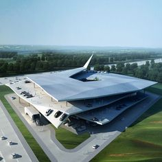 3Gatti Architecture Studio of Rome and Shanghai have won a competition to design an automobile museum in Nanjing, China.