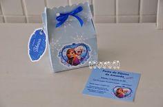 Convite na caixinha -  Tema Frozen  :: flavoli.net - Papelaria Personalizada :: Contato: (21) 98-836-0113  vendas@flavoli.net