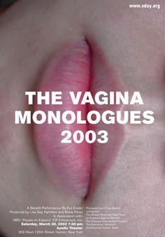 The Vagina Monologues Poster (Chermayeff & Geismar)