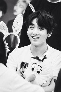 Seeing jungkook smile makes me smile :D