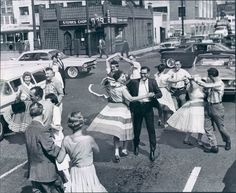 1950's Dancing in the streets