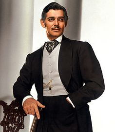 ah, clark gable. they just don't make men like this anymore. except maybe george clooney.