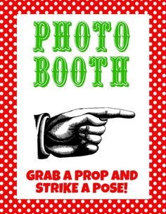 Christmas Printable Photo Booth Props | Jane
