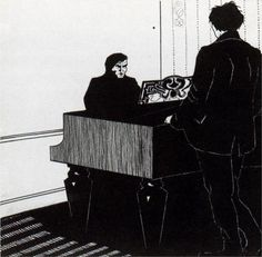 Pianist and Listener - Umberto Boccioni
