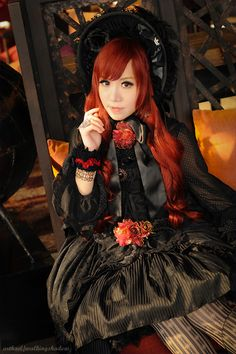 Outfit to a BJD event last Saturday. Lady Lilith...