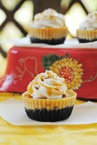 Mini Coffee Cheesecakes