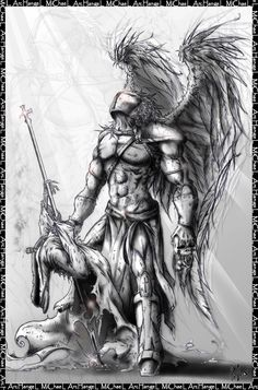 warrior archangel michael tattoo - Google Search
