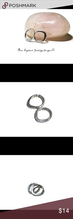 1PC 16G 7mm 925 silver triangle septum ring Made of 926 Sterling silver, hallmarked 925, this hoop is 16 gauge and measures 7mm in diameter (if you want a gauge or size other than this lmk and I'll list it for you!)  ew england jewelry designs Jewelry