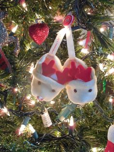 Walnut & Vine - 1st Christmas ornament from Hallmark