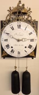 Antique French Comtoise Clock Circa 1790 | Ian Burton Antique Clocks