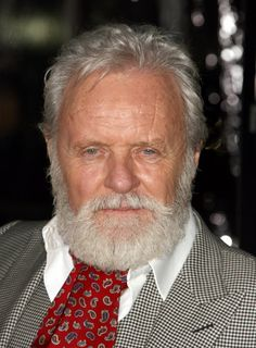 Anthony Hopkins at event of Wolfman Buzz Cut Hairstyles, Older Mens Hairstyles, Hairstyles Over 50, Men's Haircuts, Short Haircuts For Older Men, Men Over 50, Sir Anthony Hopkins, Salt And Pepper Hair, Beard Game