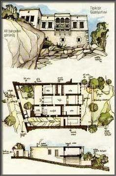 geleneksel türk evi plan - Google Search