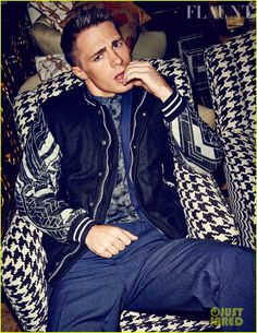 Colton Haynes Flexes His Muscles for 'Flaunt' Feature! | colton haynes flexes his muscles for flaunt feature 04 - Photo