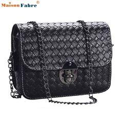 5.84$  Watch now - New Fashion Summer Women Shoulder Bag Chain Flap Messenger Bags Designer Handbags Clutch Bag With Metal Buckle Maison Fabre   #buyininternet