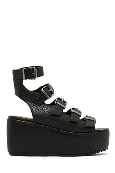 Shoe Cult Grace Flatform #JeffreyCampbell