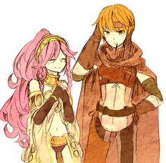 Fire Emblem: Awakening - Olivia and Gaius