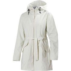 Helly Hansen Women's Kirkwall Rain Coat ($68) ❤ liked on Polyvore featuring outerwear, coats, eggshell, rain coat, helly hansen, waterproof coat, helly hansen coats and waterproof raincoat