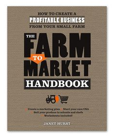 The Farm to Market Handbook Paperback #zulily #zulilyfinds