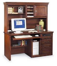 Huntington Oxford Single Pedestal Desk