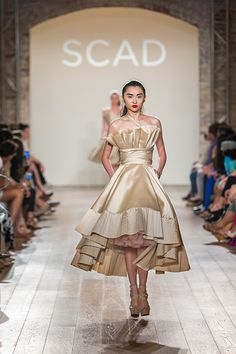 13 Up-And-Coming Designers You'll Want In Your Closet — Now #refinery29  http://www.refinery29.com/2014/05/68144/scad-fashion-show-2014#slide11  Tingting Feng proves that ruffles don't have to be frilly.