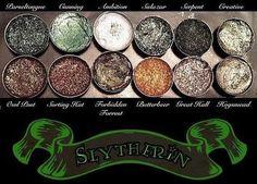 Slytherin Pressed Eyeshadow Palette - glowcultcosmetics
