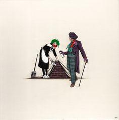 """""""Joker vs. Banksy"""" - Batman"""