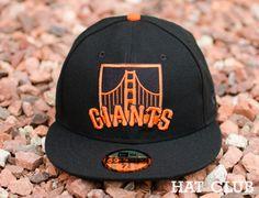 Custom San Francisco Giants Bridge Logo 59Fifty Fitted Cap @ HAT CLUB