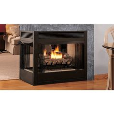 EDVPF Three-Sided Peninsula | Fireplaces | Lennox Hearth Products ...