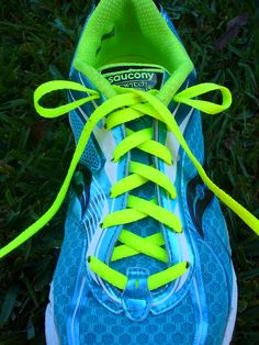 How to tie your running shoes to fit your feet better.