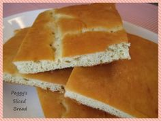Peggy's Sliced Bread ~ No yeast, & recipe's creator Peggy & a couple of commenters say it's very close to white bread in taste & texture!  144 cals & 2.83g net carbs per slice  | buttoni.wordpress.com/2012/01/19/peggys-sliced-bread/